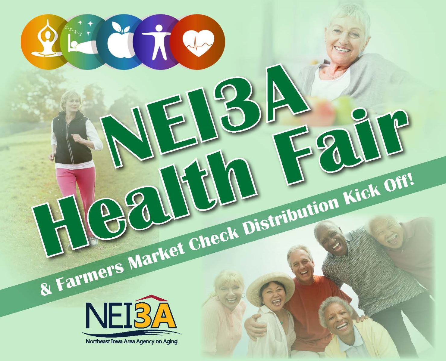NEI3A Hosting Health Fairs and Farmers Market Coupon Distribution Kickoff