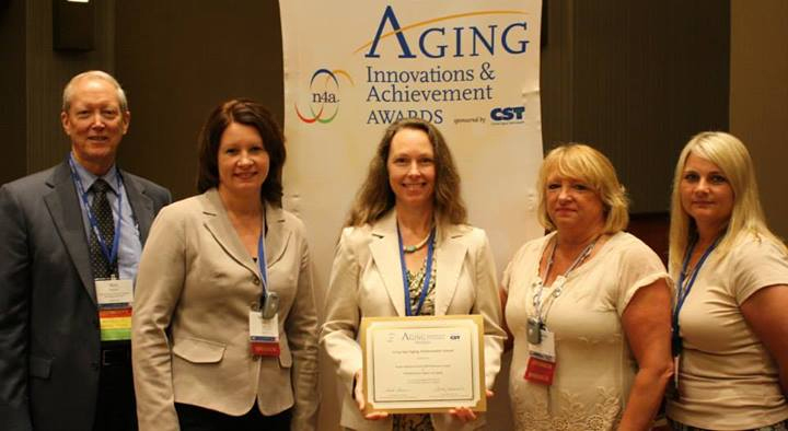 NEI3A Receives Prestigious Aging Achievement Award from  the National Association of Area Agencies on Aging (n4a)