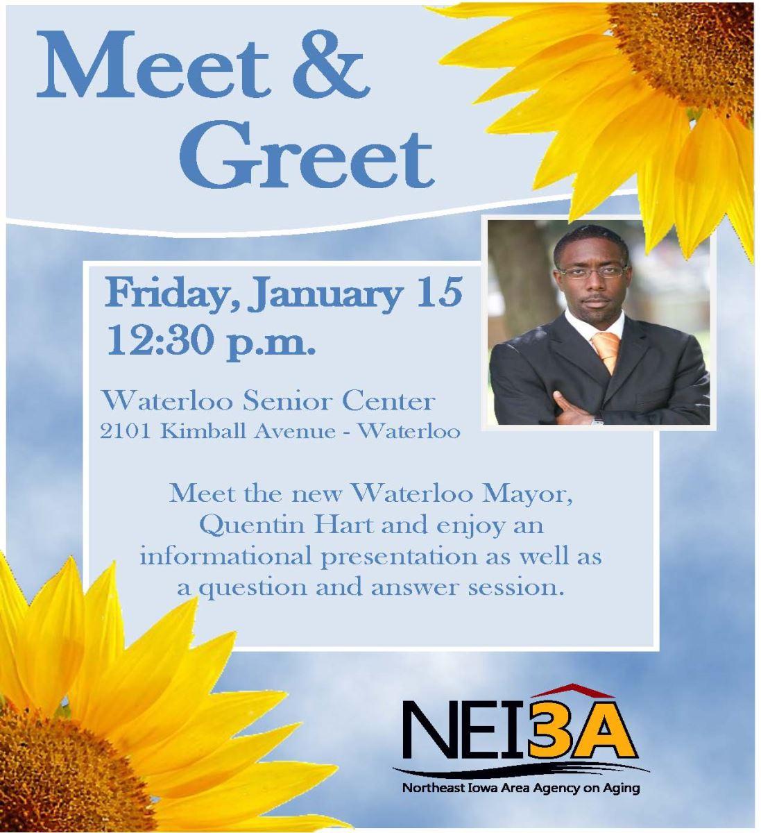 Waterloo Mayor Meet And Greet Northeast Iowa Area Agency On Aging