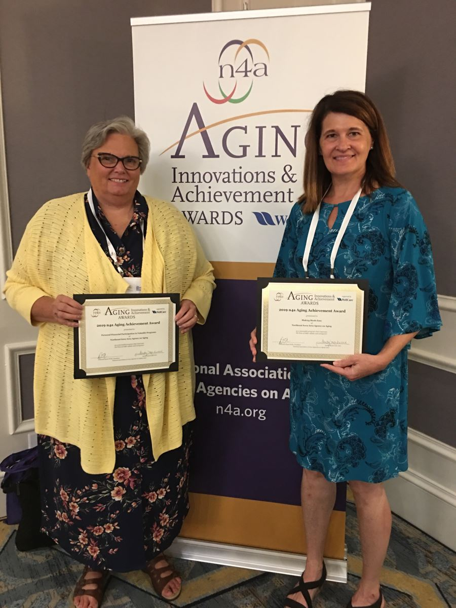 NEI3A Receives Two Aging Achievement Awards at National n4A Conference